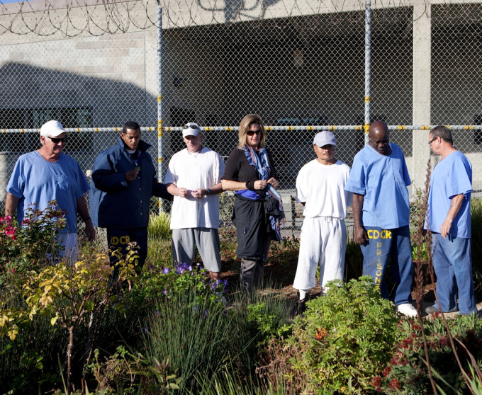 Civil Eats Article! Gardening Behind Bars: San Quentin's First Harvest SanQ garden1
