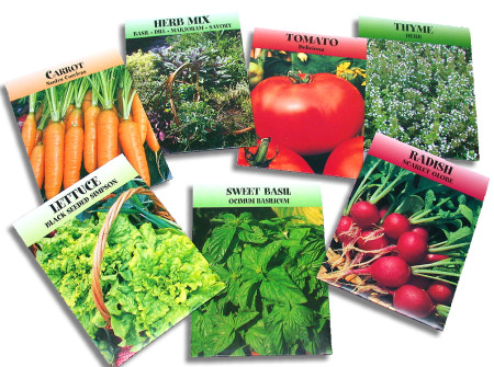 seeds for edible landscaping