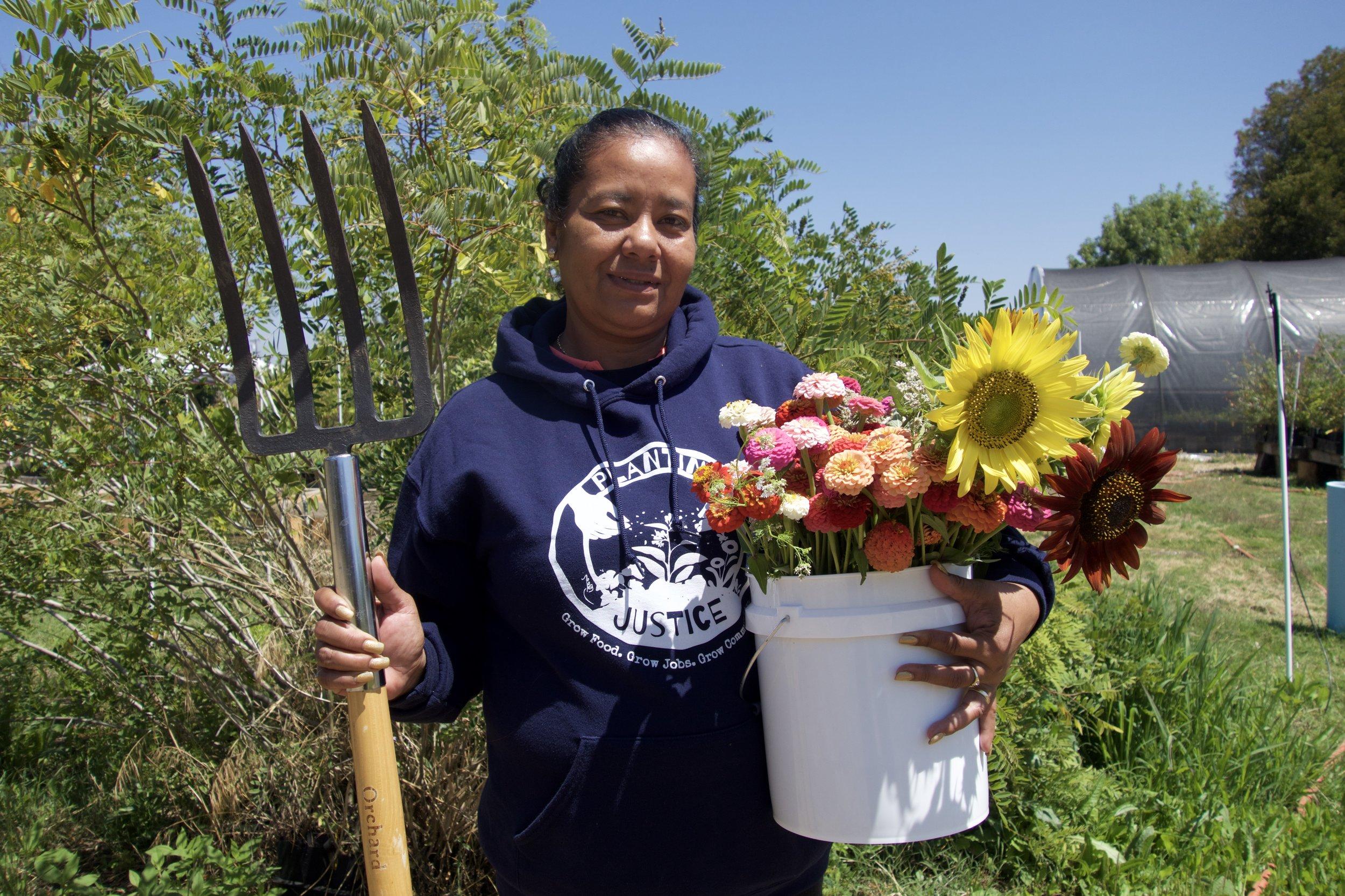 Planting Justice Nursery Team, Adela