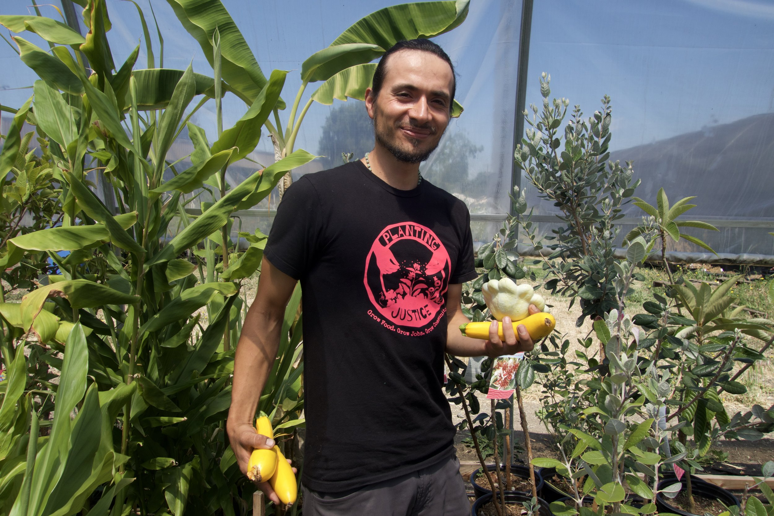 Planting Justice Nursery Team, Jose