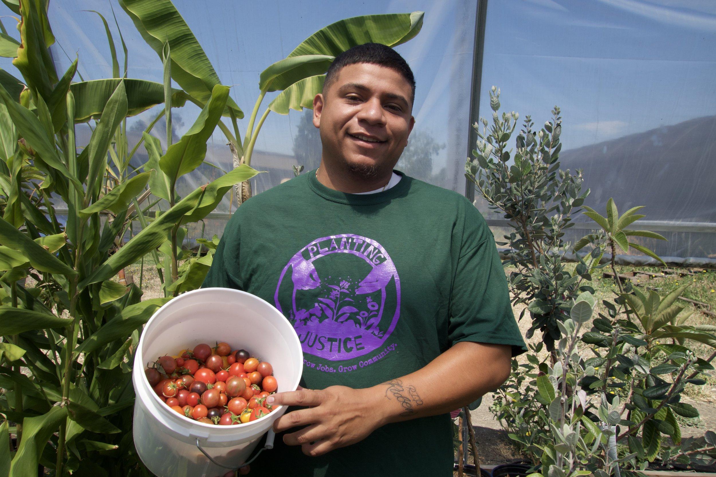 Planting Justice Nursery Team, Luis Jr.