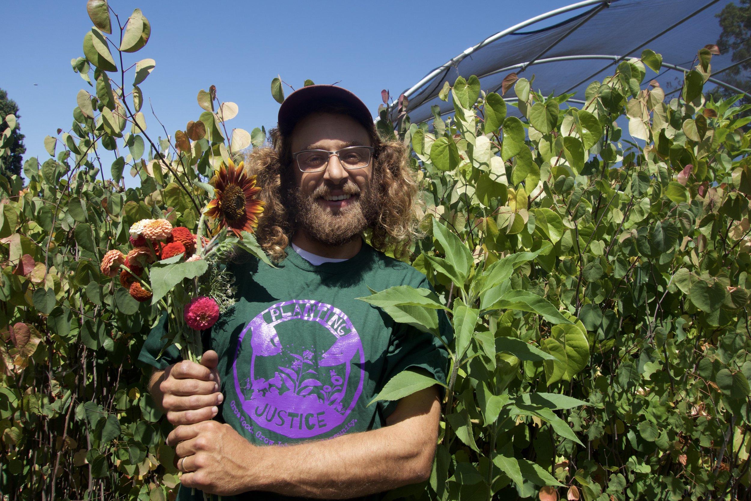 Planting Justice Farm Team, Andrew