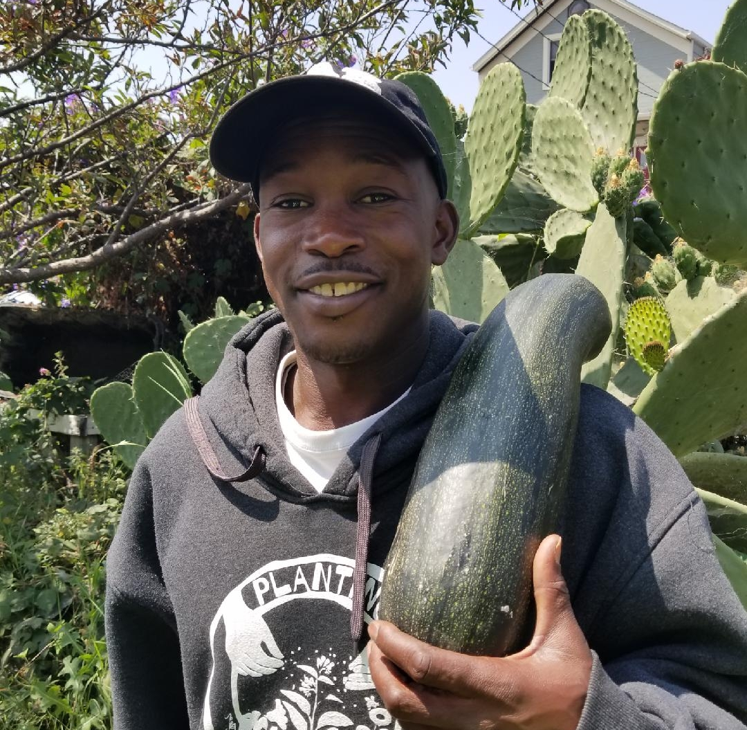 Planting Justice Vendor, Bilal