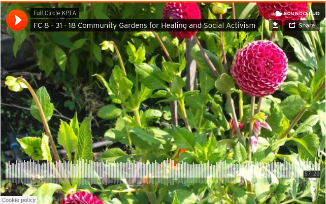 First Voice Apprenticeship on KPFA features Anthony and Diane, Planting Justice Educators, to discuss the growing organic food movement and community, non-profit gardening.