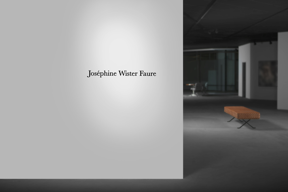 Joséphine Wister Faure, installation view