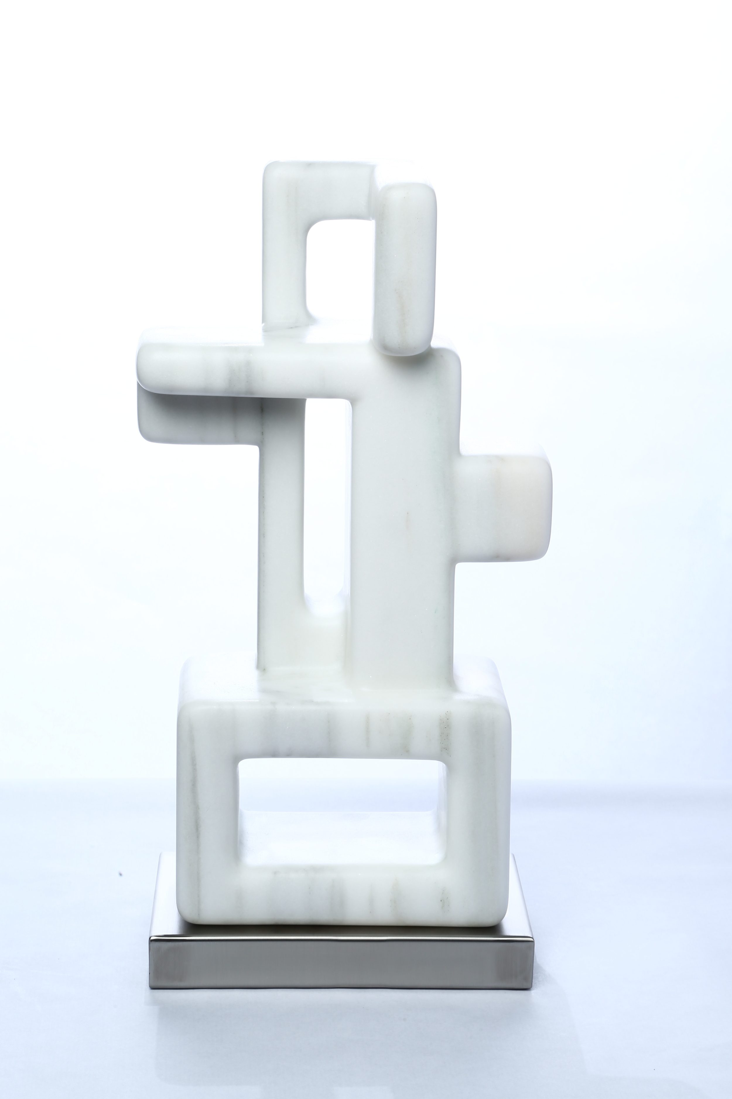 "3 Holes Vertical    Macael Marble  23"" x 11"" x 7½"""