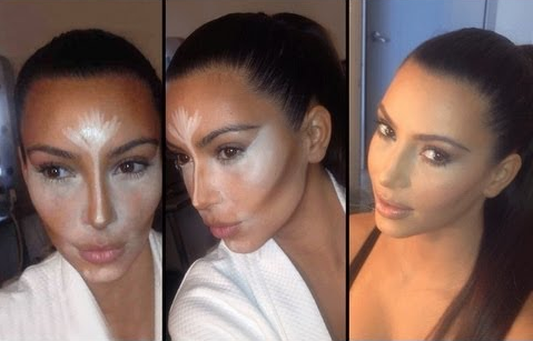 Yes, this is what a correct contour looks like in process.