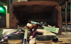 The destiny for all that makeup you bought and didn't return when it didn't work. Might as well be hundred dollar bills…..