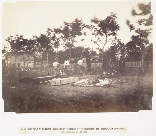 Burying the Dead, Fredericksburgh, Virginia