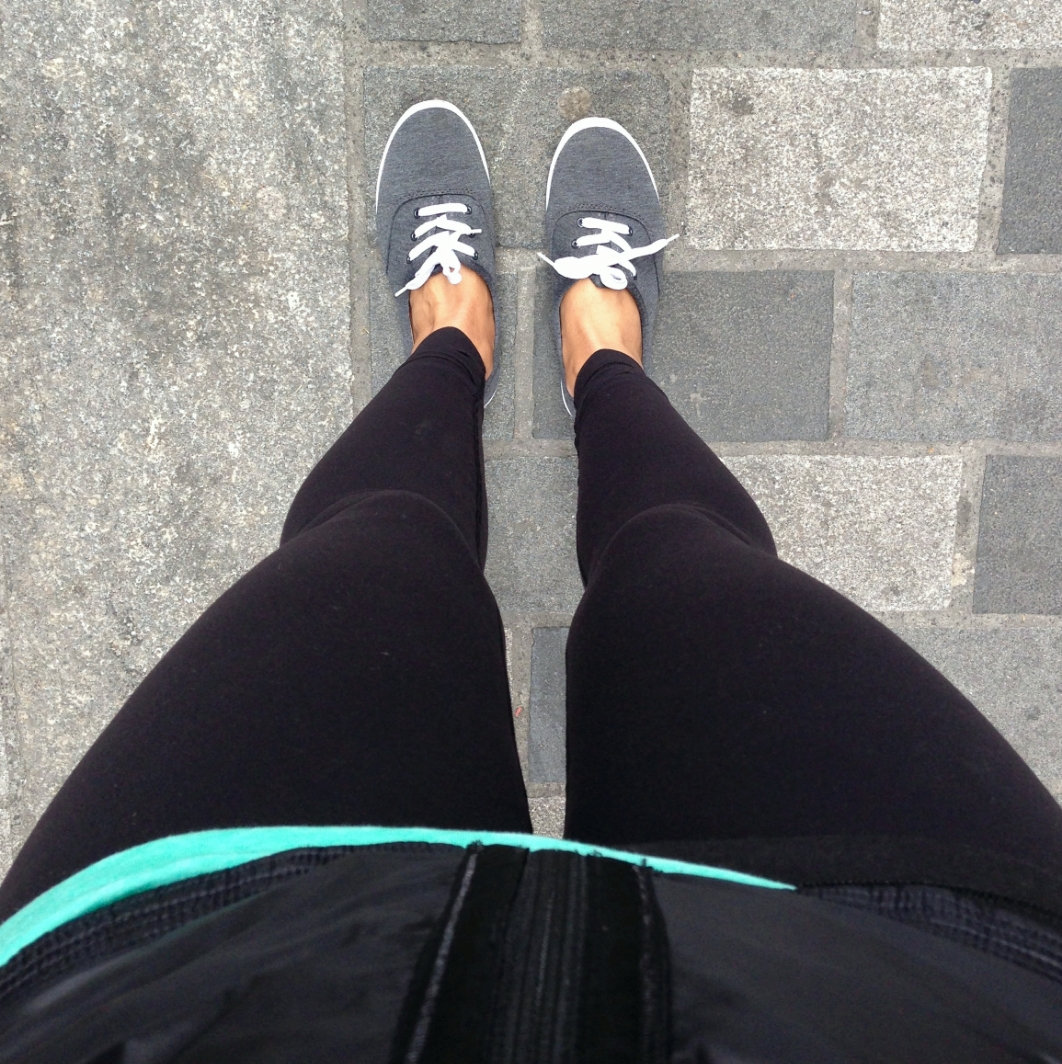 Light gray primark sneaks