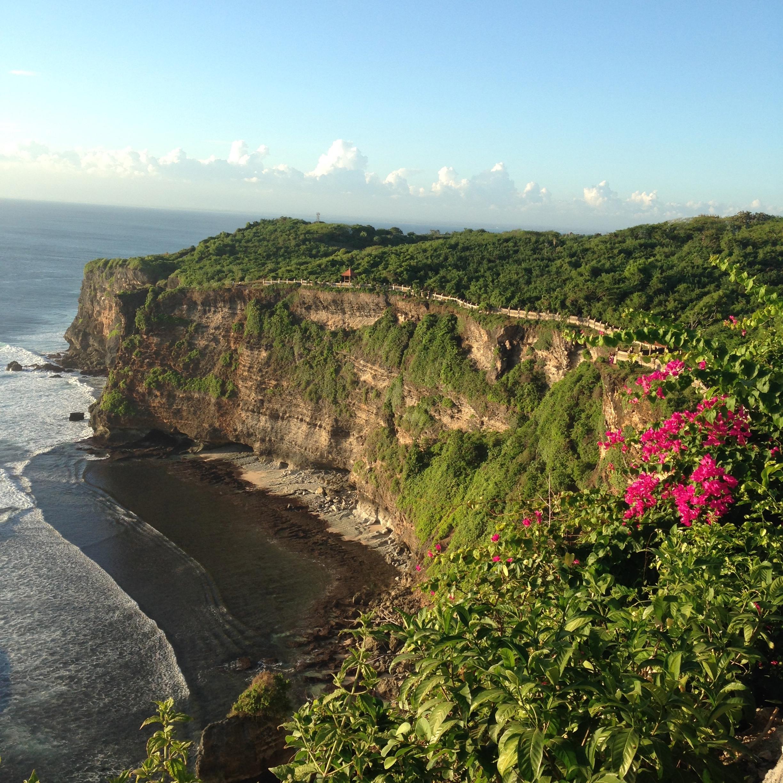 Beautiful Bali tides
