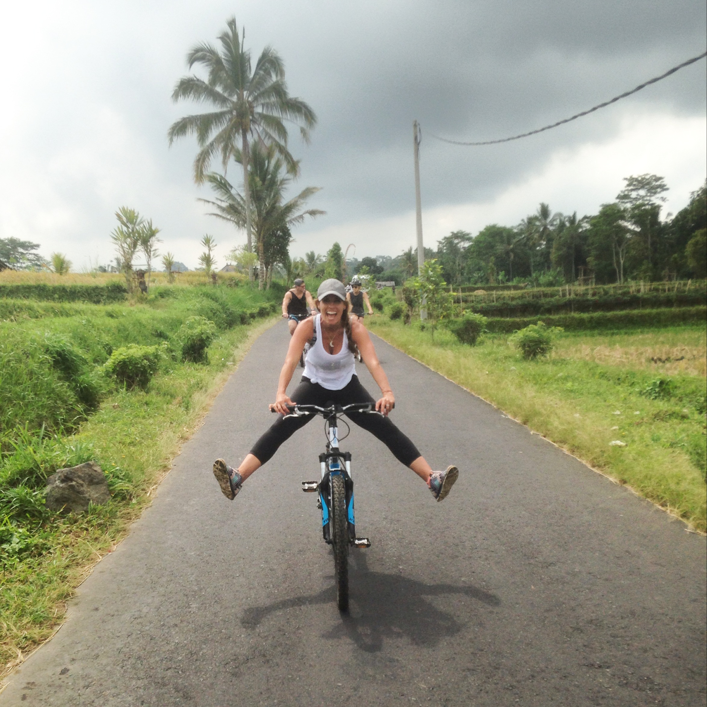 Biking, adventure and waking up early… three things in one experience that made me happy :)