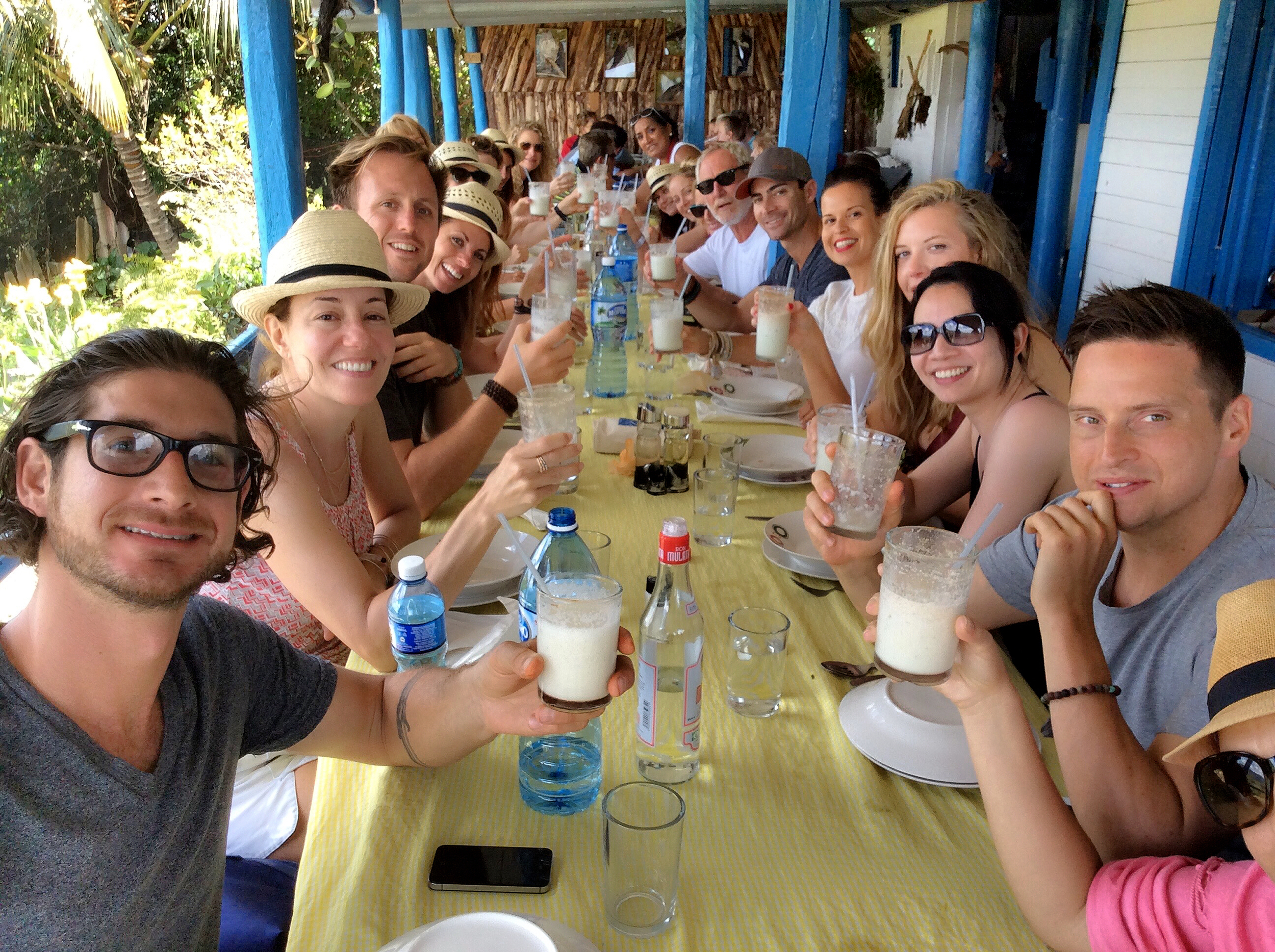 organic family lunch in viñales!