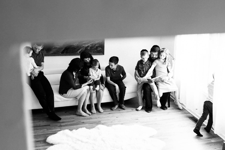 EMOTIVE IN HOME FAMILY PHOTOS PASSAIC NJ: THE D FAMILY
