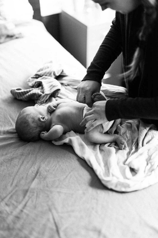black-and-white-newborn-photography-ogden-utah