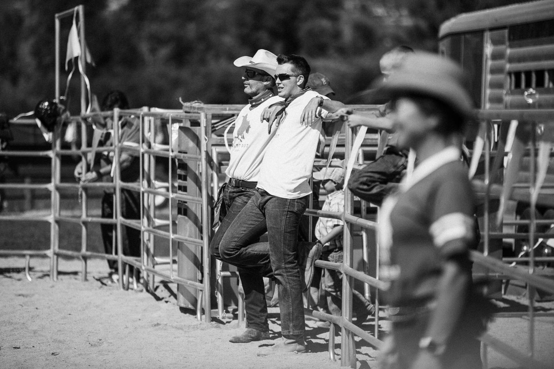 gentlemen-relaxing-at-legacy-days-rodeo-heber-ut