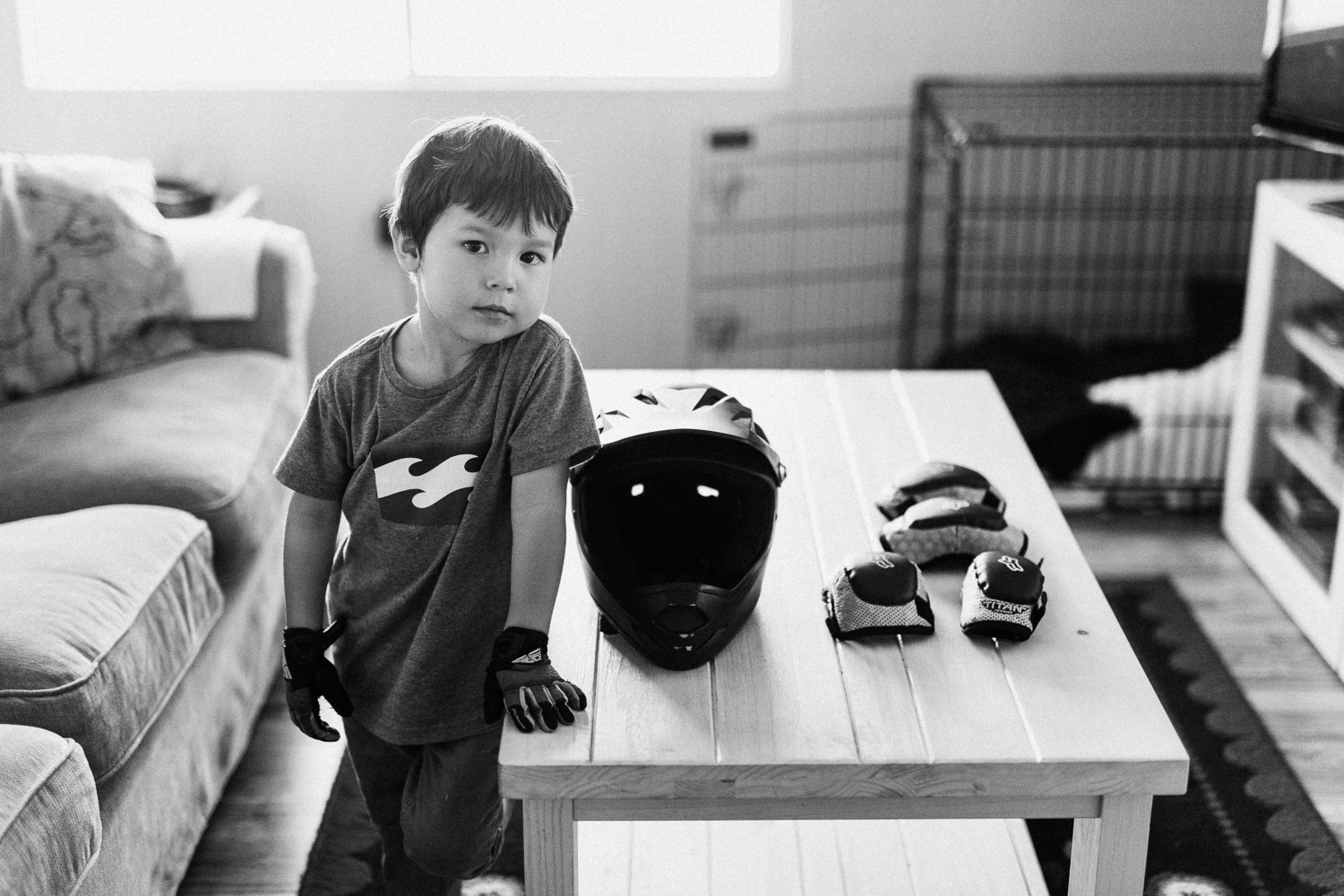 black-and-white-portrait-of-boy-with-bmx-gear-family-photojournalism-poway-ca