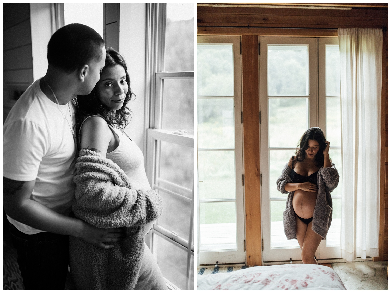 Karla and David Perez Maternity Photoshoot at Home with jenFAIRCHILD Photography in Hudson Valley New York_0014.jpg