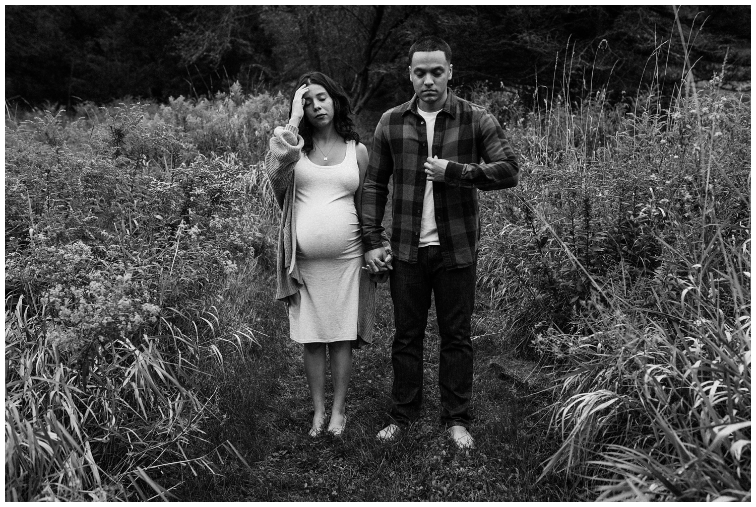 Karla and David Perez Maternity Photoshoot at Home with jenFAIRCHILD Photography in Hudson Valley New York_0027.jpg