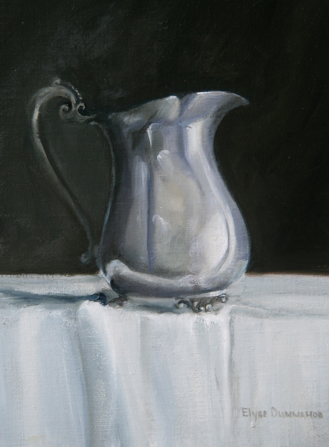 """Silver Pitcher"""