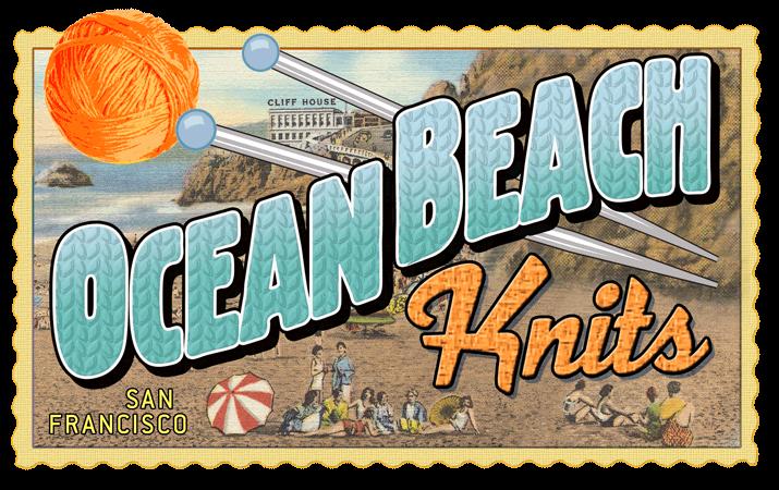 Ocean Beach Knits Logo