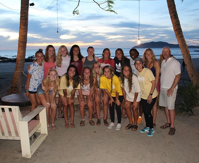 Last night we had dinner and a view! Today we drove to San Jose and are getting ready for our first match!! -GS