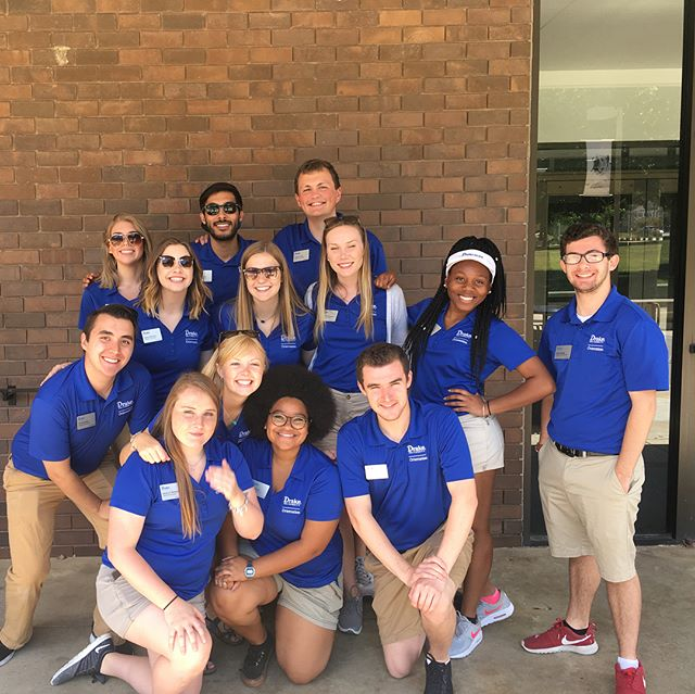 This summer, I've had the opportunity of assisting with Orientation for my 3rd year in a row! This has been a great experience that has allowed me to develop as a leader and mentor others! #Drakelead #gobulldogs