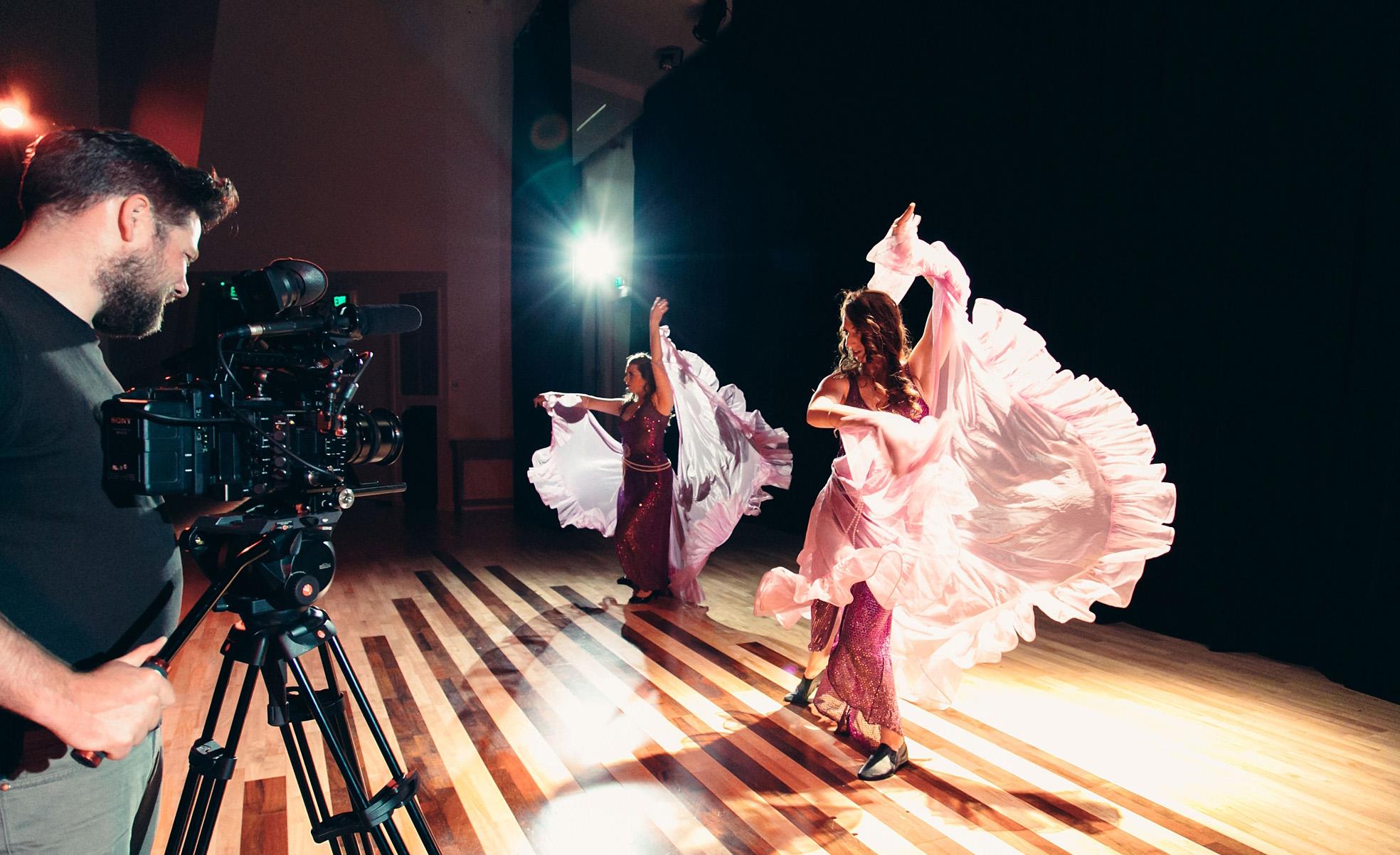 Kirk Pflaum films Dancers Ella Wallace & Larissa Gray (Photo Credit - Emma Smart).jpg