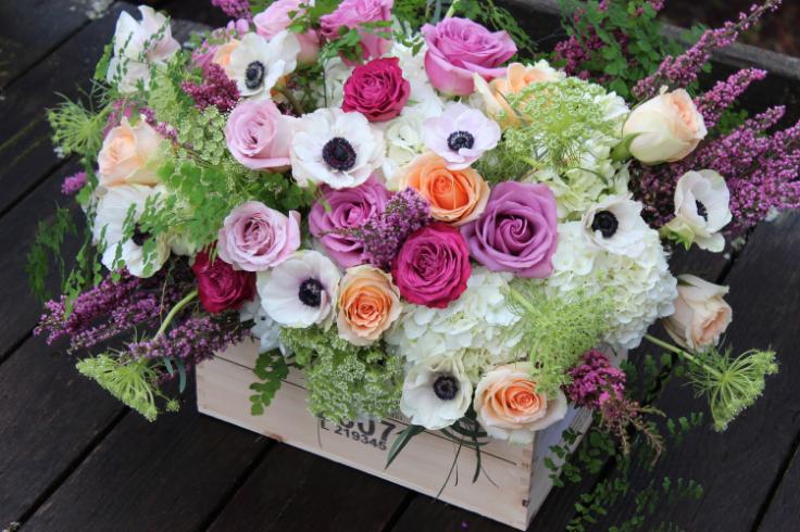 sophisticated floral wedding flowers portland oregon