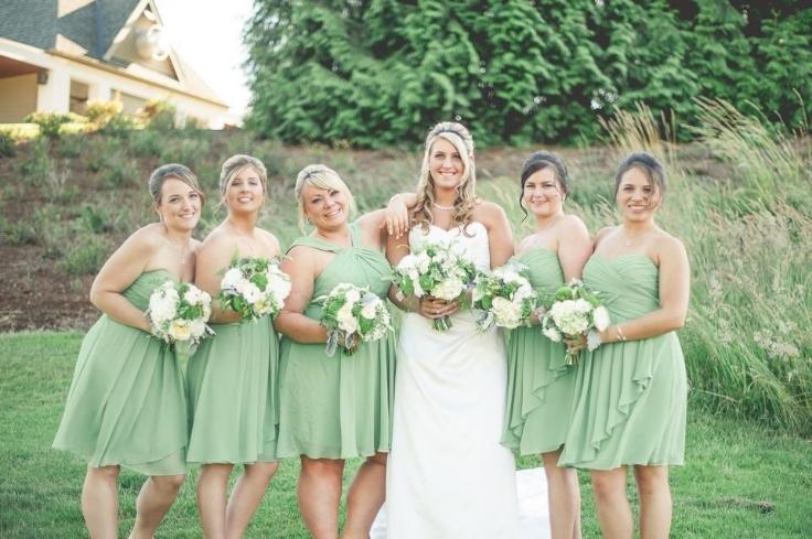 sophisticated floral portland wedding florist