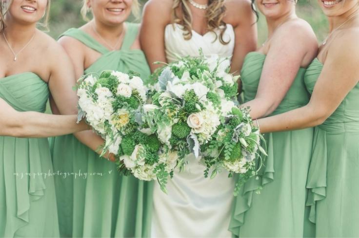 sophisticated floral designs portland wedding florist