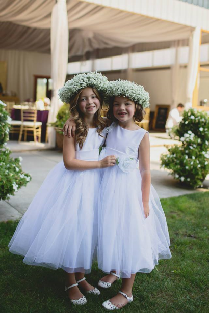 babies breath floral crown sophisticated floral designs portland oregon wedding florist