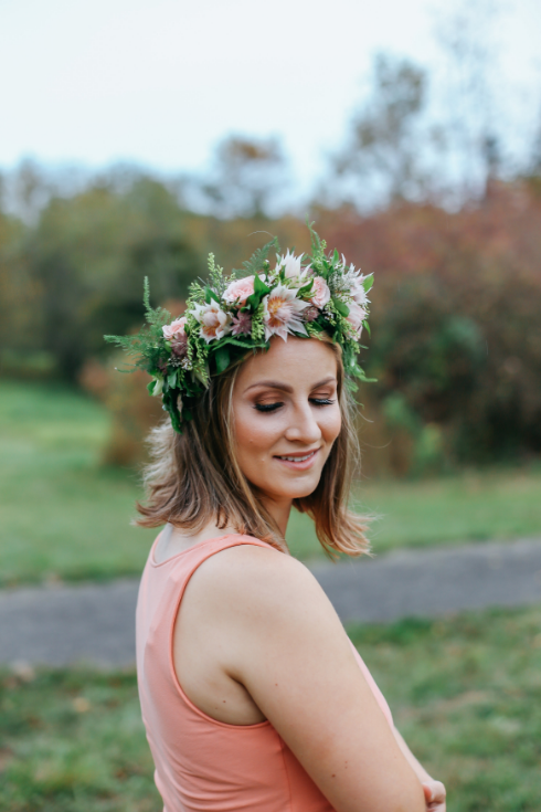 Spotted stills photography sophisticated floral designs flower crown flowers to wear