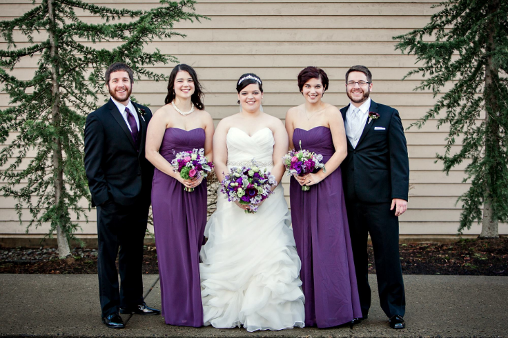 bridal party flowers sophisticated floral designs portland oregon florist