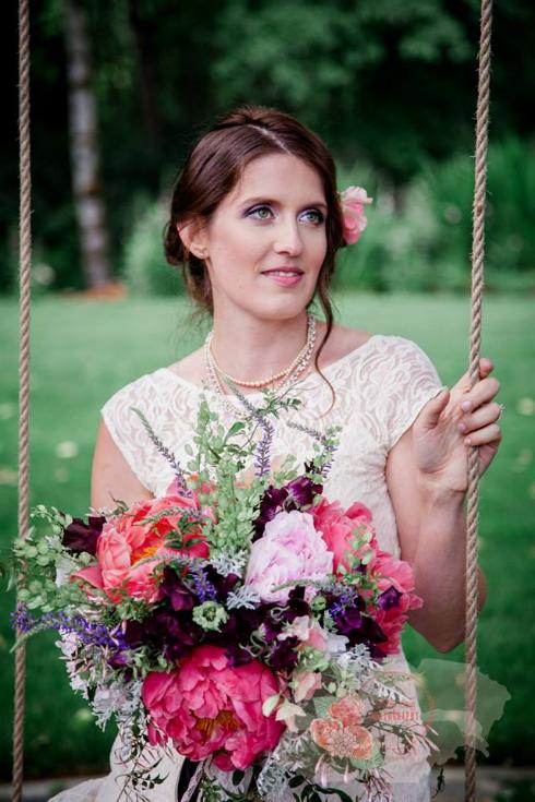 sophisticated floral designs portland oregon florist wedding flowers bouquet peony
