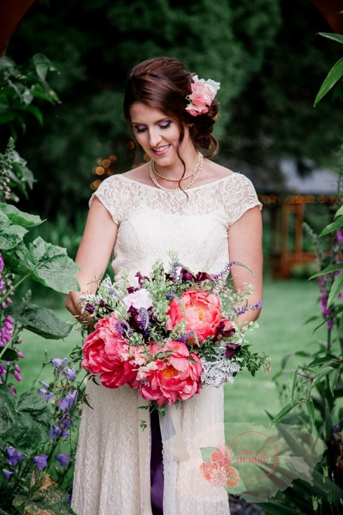 peony bridal bouquet sophisticated floral designs