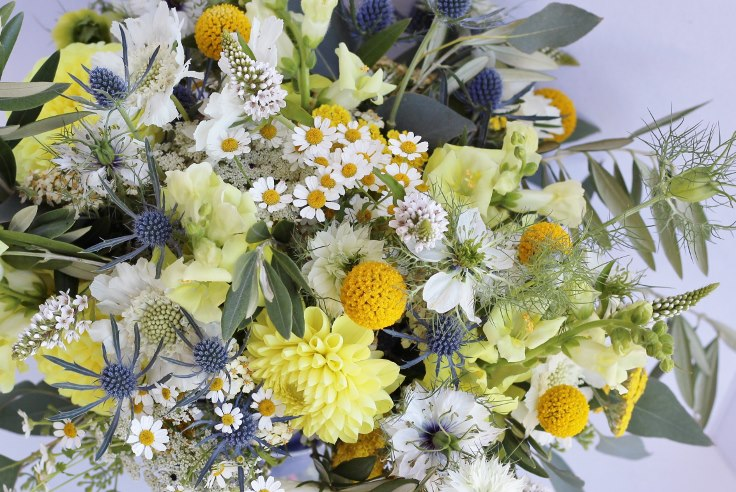 sophisticated floral designs portland florist bridal bouquet