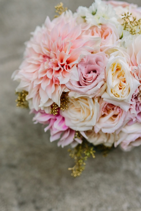 sophisticated floral designs Abernathy Center bridal bouquet