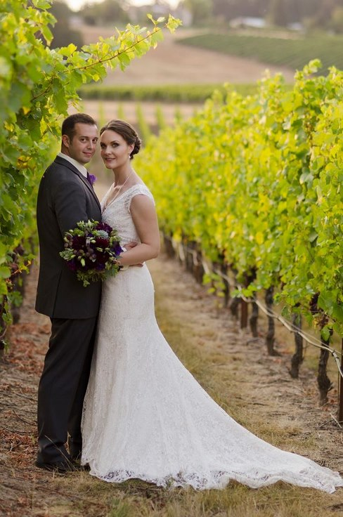 wine country wedding methven family vineyards sophisitcated floral wedding flowers