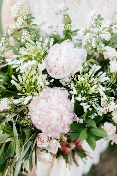 peony garden bouquet bespoke sophisticated floral portland