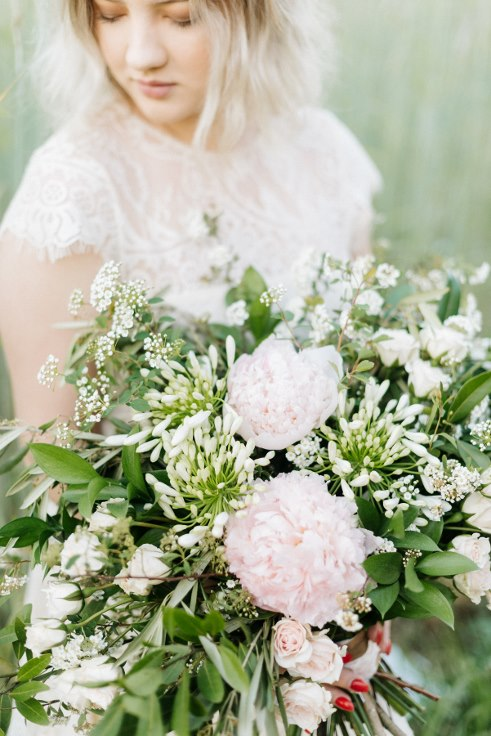 garden style oversized bouquet bridal flowers sophisticated floral