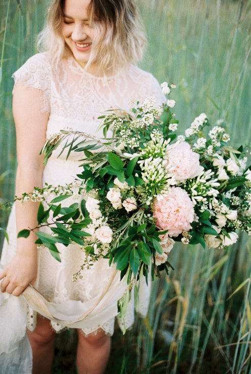 liza james photography sophisticated floral bouquet portland oregon florist