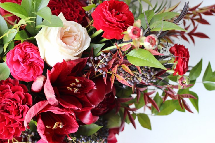 bridal bouquet garden style organic loose lush bespoke by sophisticated floral designs