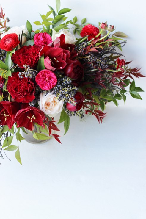 sophisticated floral designs portland oregon wedding florist burgundy red wedding flowers