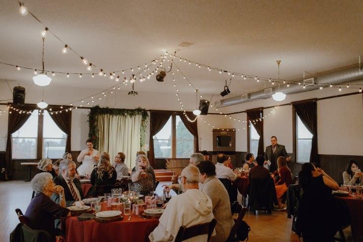 sophsiticated floral designs portland oregon wedding at village ballroom