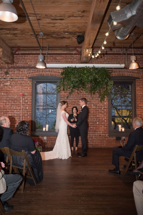 sophisticated floral designs portland oregon wedding florist floral installation bridgeport brewery brew pub
