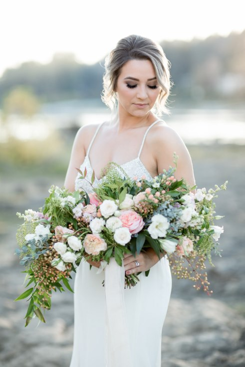 sophisticated floral designs portland oregon wedding florist blush oversized boho bridal bouquet ranunculus garden roses (7).jpg