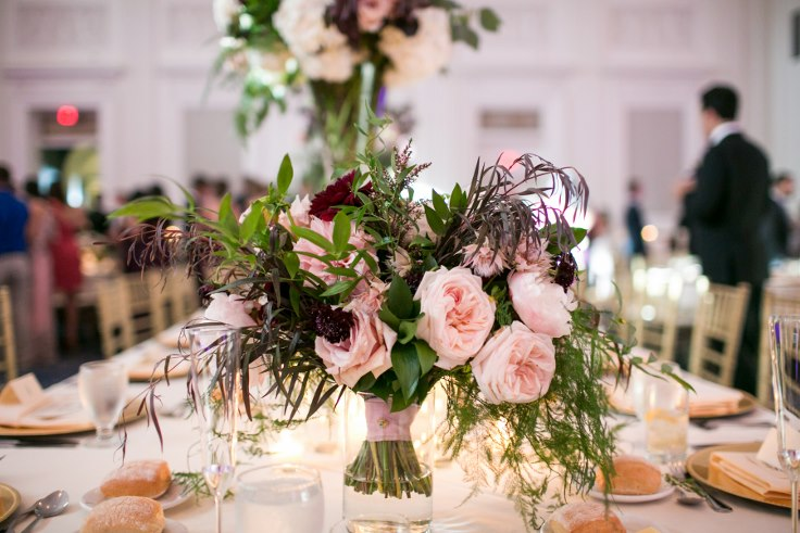sophisticated floral designs portland oregon wedding florist sentinel hotel george street photo bridal bliss wedding planning garden rose bridal bouquet