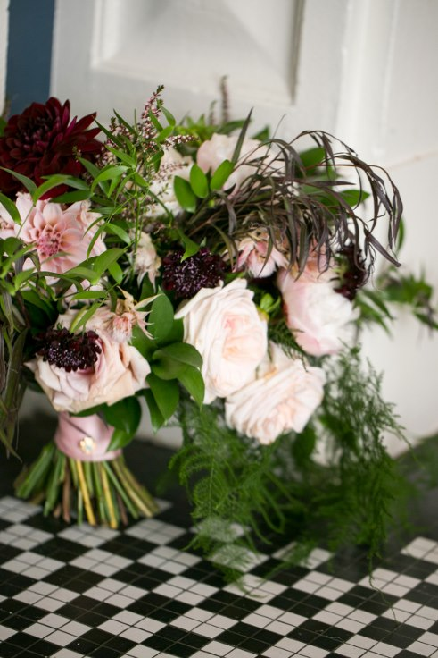 sophisticated floral designs portland oregon wedding florist sentinel hotel george street photo bridal bliss wedding planning blush and plum bridal bouquet
