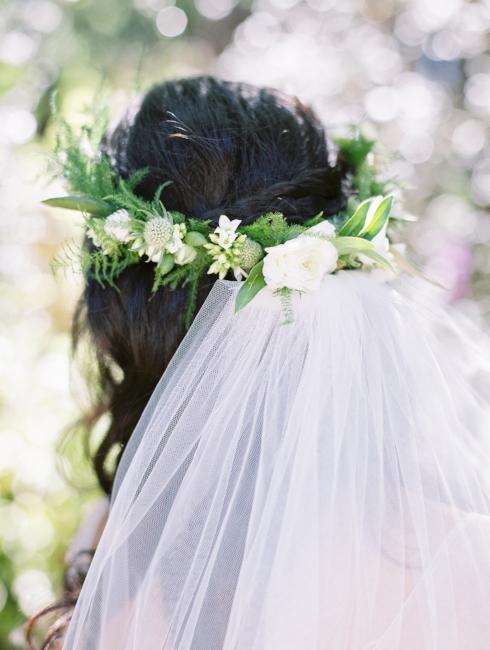 sophisticated floral designs wedding florist portland oregon floral crown foliage flowers